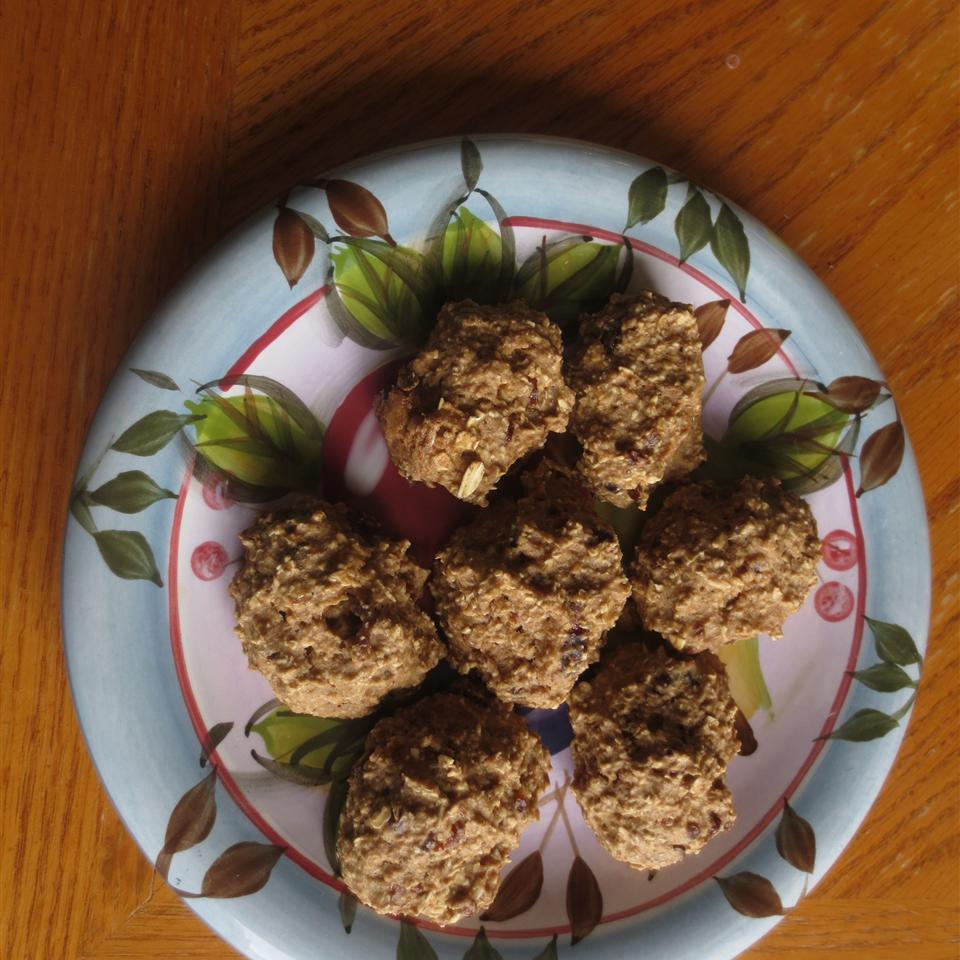 Banana Oat and Bran Cookies P Weiss