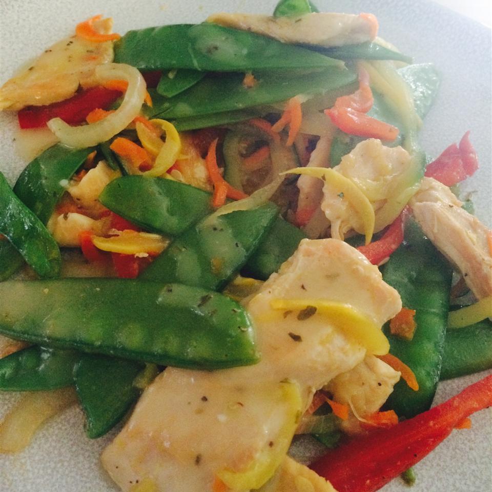 Vinaigrette Chicken and Vegetables kellyy28