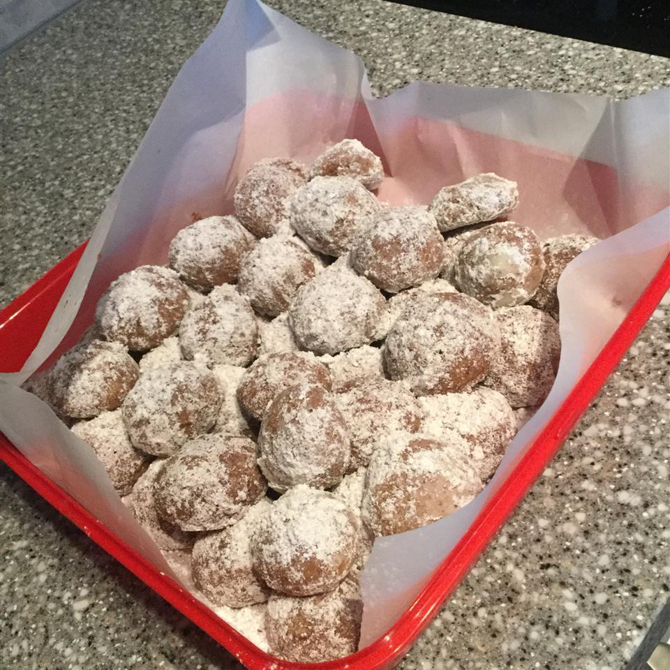 Chocolate Mexican Wedding Cookies Jillian Haas