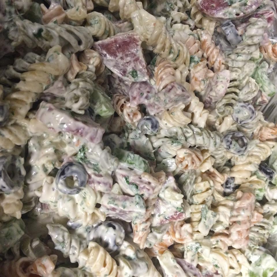 American-Italian Pasta Salad Joi Erin