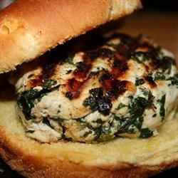 Goat Cheese and Spinach Turkey Burgers Nixon316