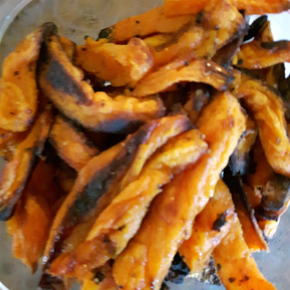 Roasted Sweet Potato Fries Manon