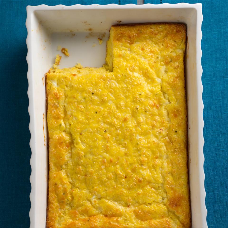 Cheesy Baked Eggs
