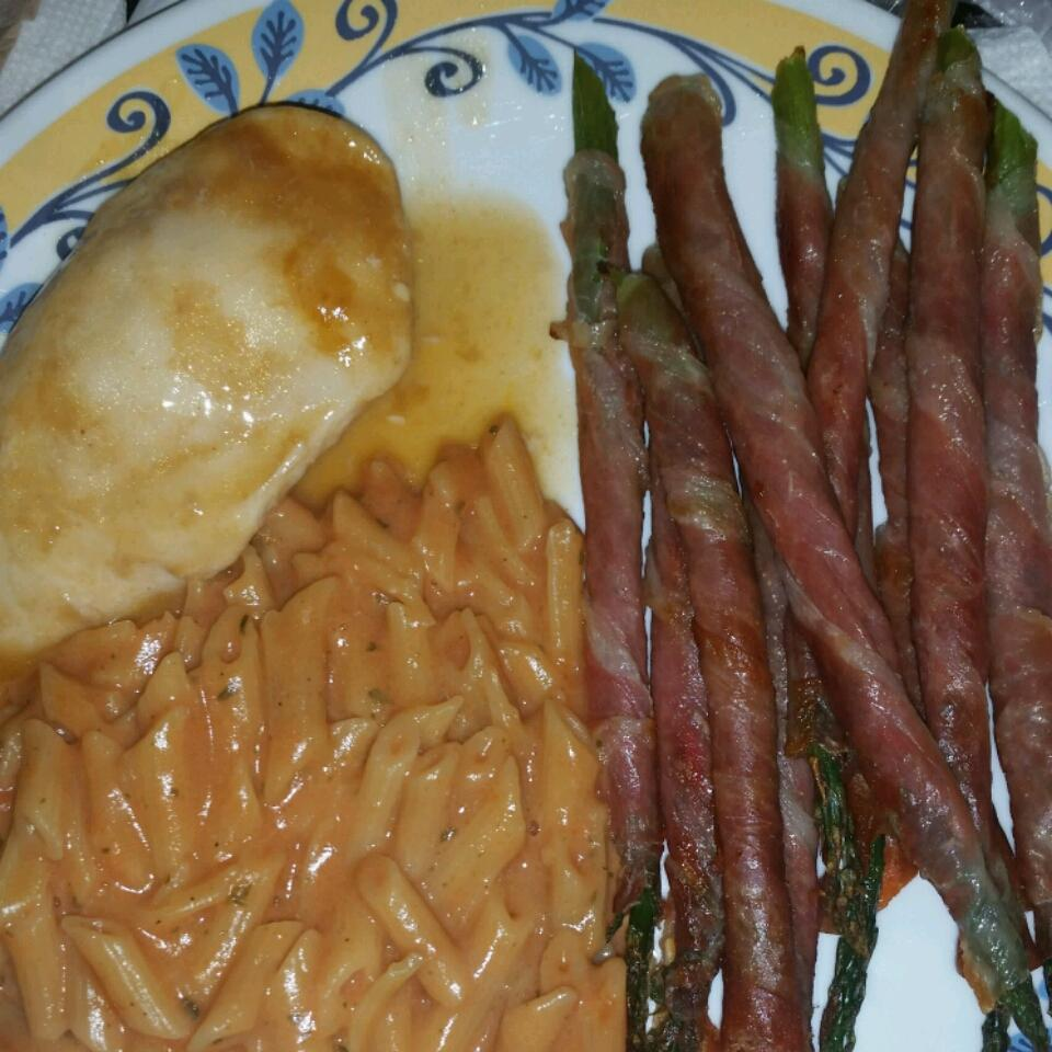 Asparagus Wrapped in Crisp Prosciutto Ainsley