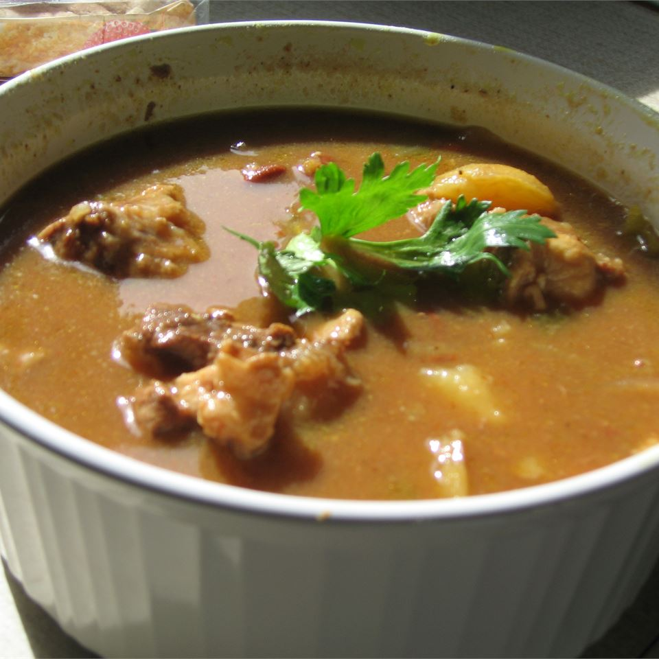 African-Style Oxtail Stew
