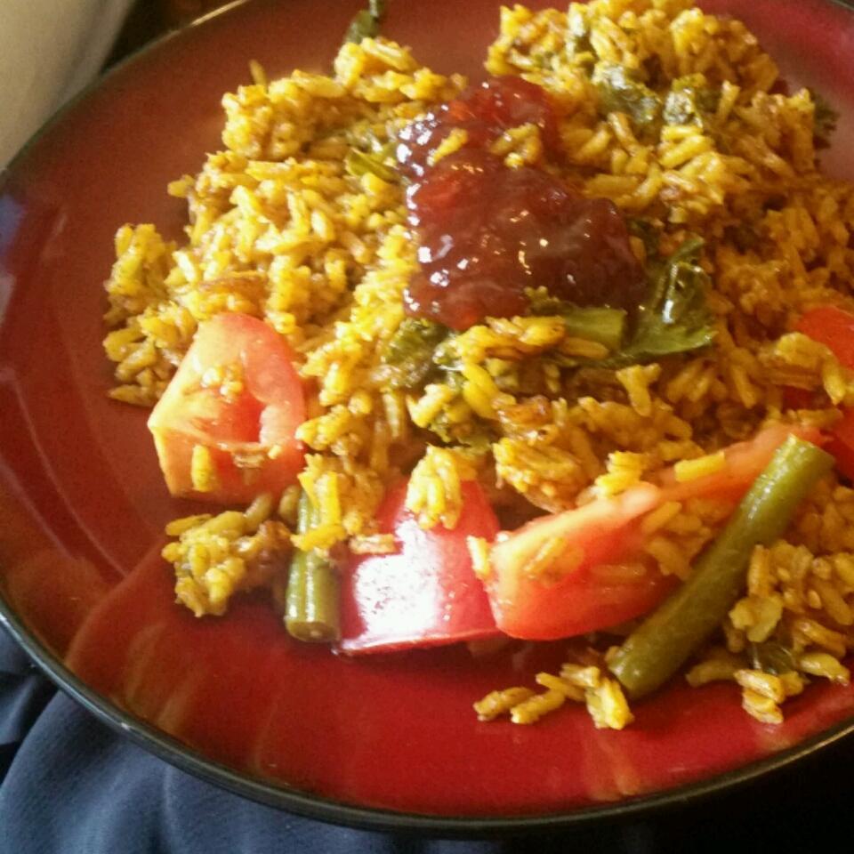 Vegan Curried Rice Jindy
