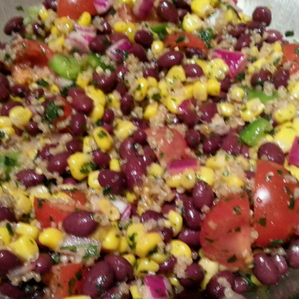 Southwestern Quinoa Salad Colleen Burlet
