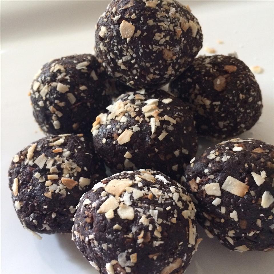 Vegan Truffles - Toasted Coconut Melissa Lynn