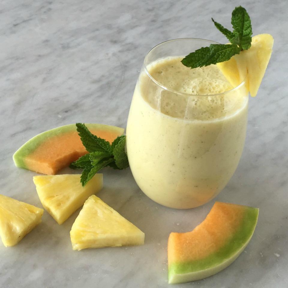 Mighty Melon Green Tea Smoothie