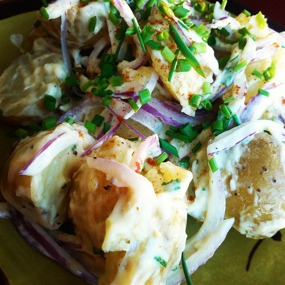 Warm Dijon Potato Salad
