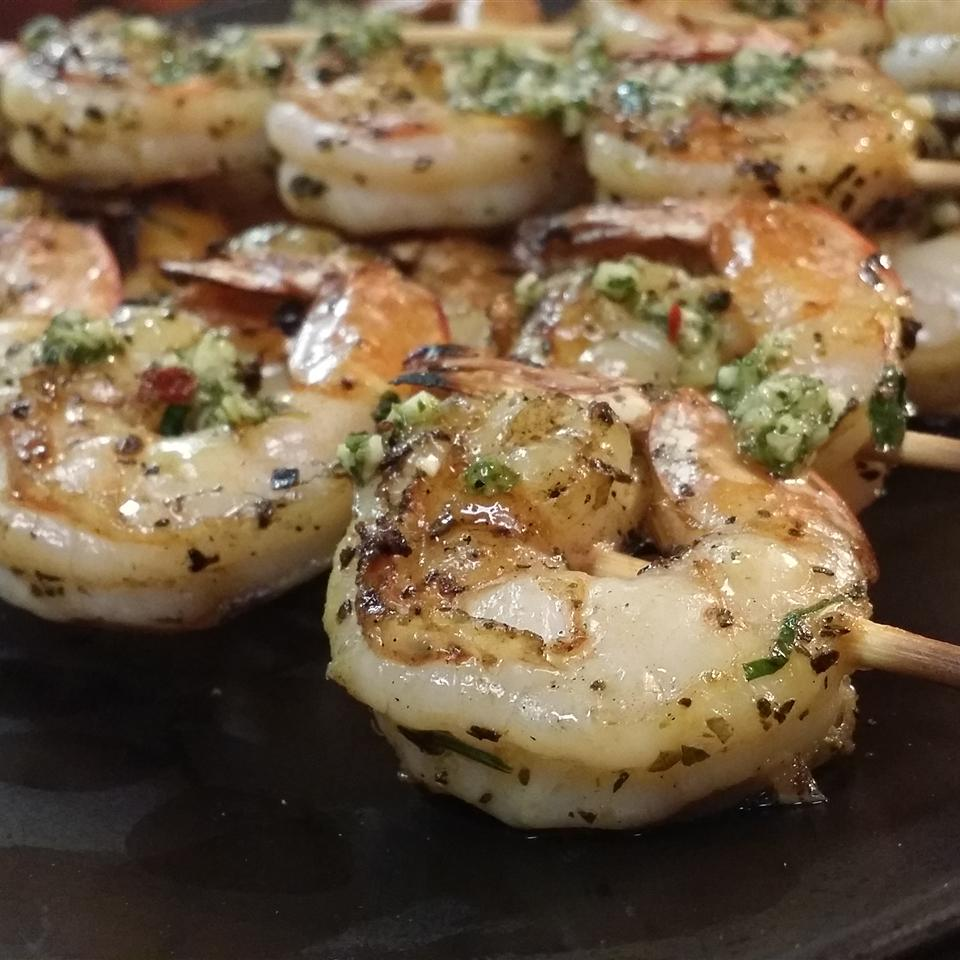 Chef John's Grilled Garlic and Herb Shrimp afbrown276