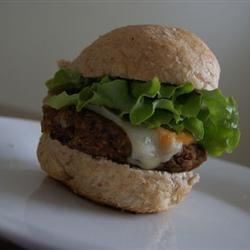 Homemade Black Bean Veggie Burgers mariamarooska