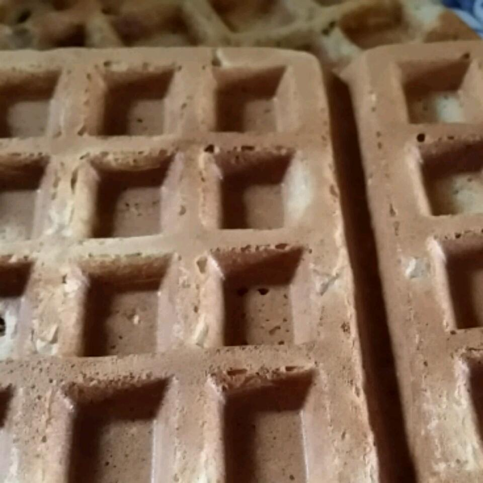 Whole Wheat Oat Waffles avitus13