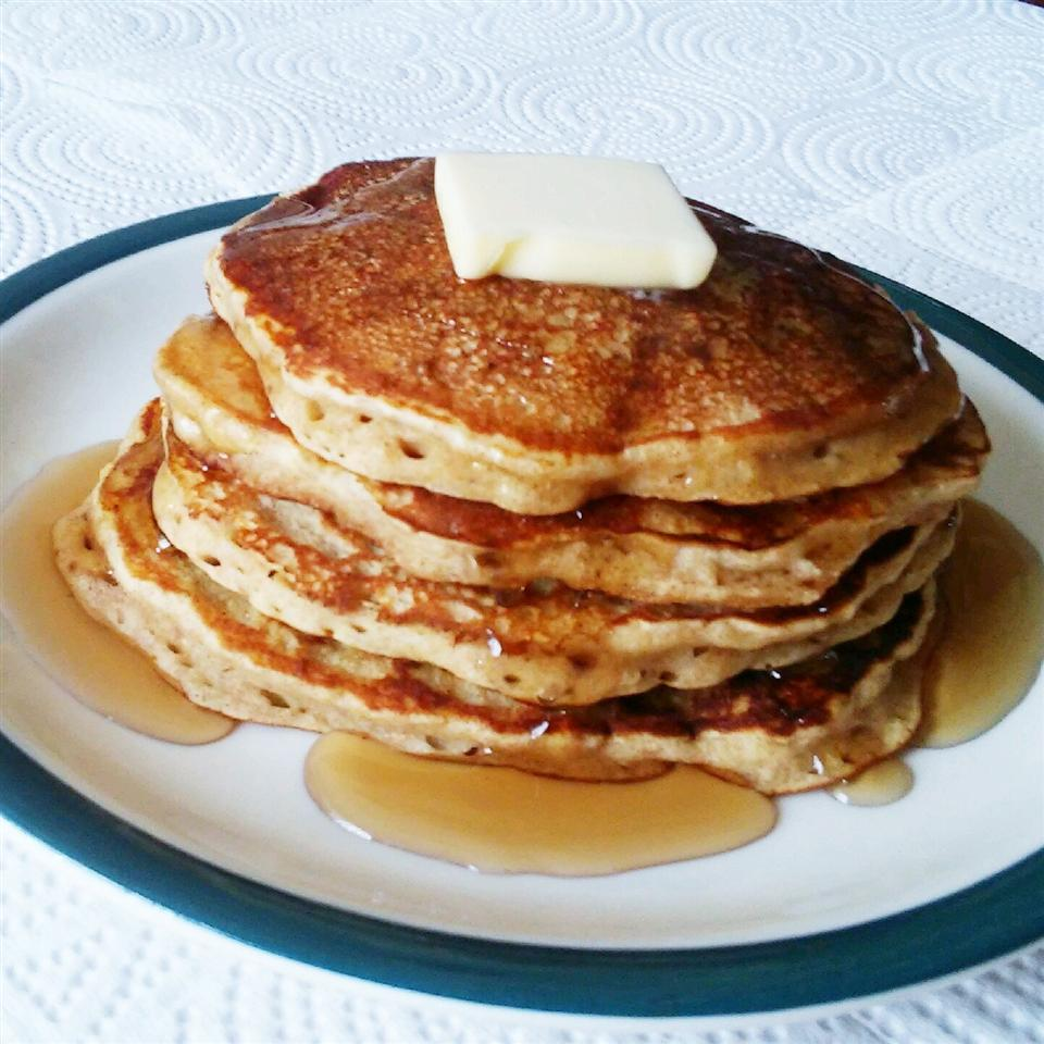 Buttermilk Banana Pancakes