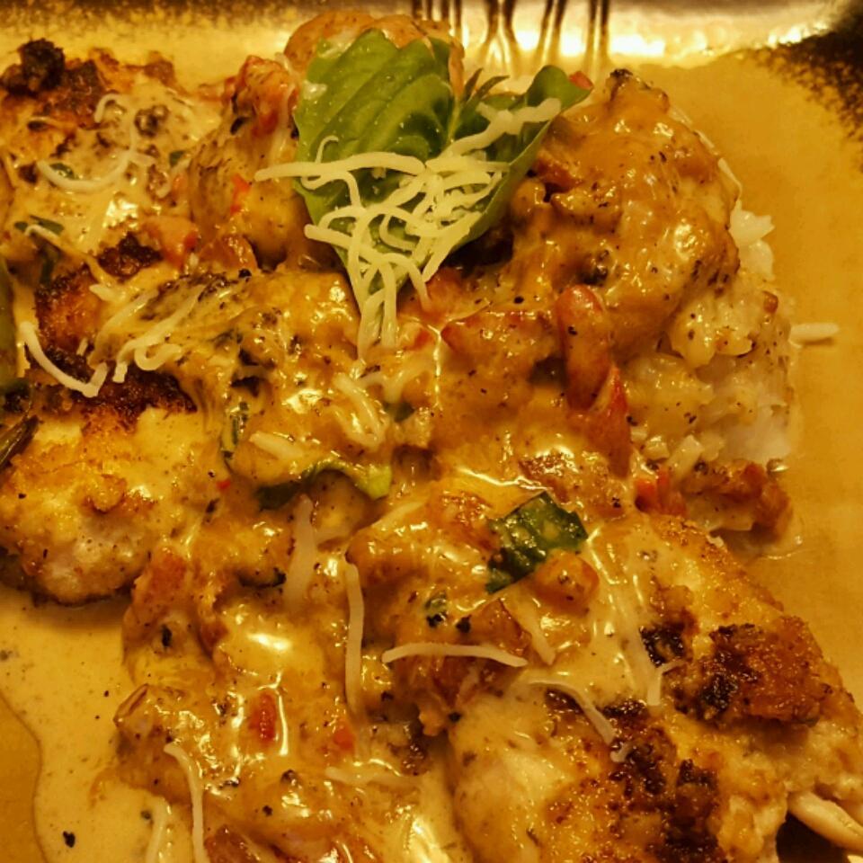 Chicken In Basil Cream Nicholas Dodson