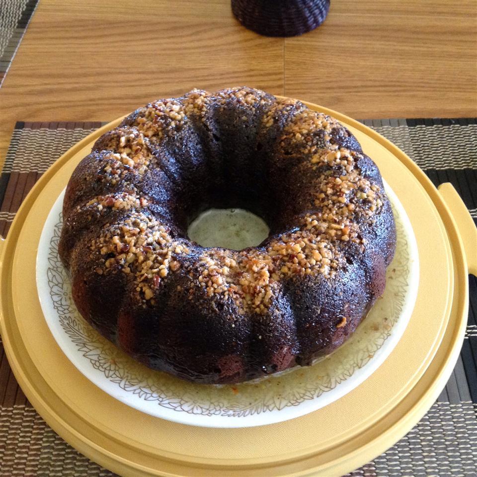 Chocolate Rum Cake pennyawe