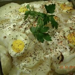 Ukraine Baked Potato Salad witchywoman