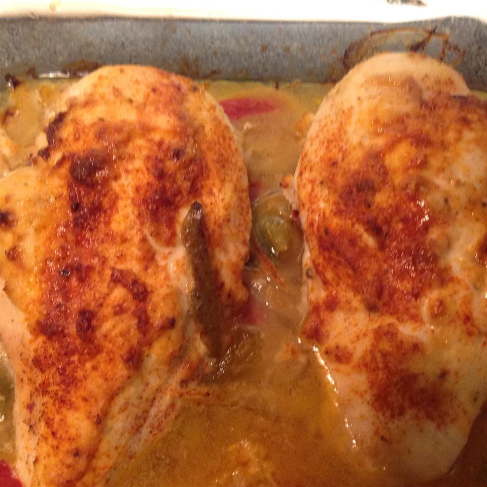 Hummus Chicken Luvcooking