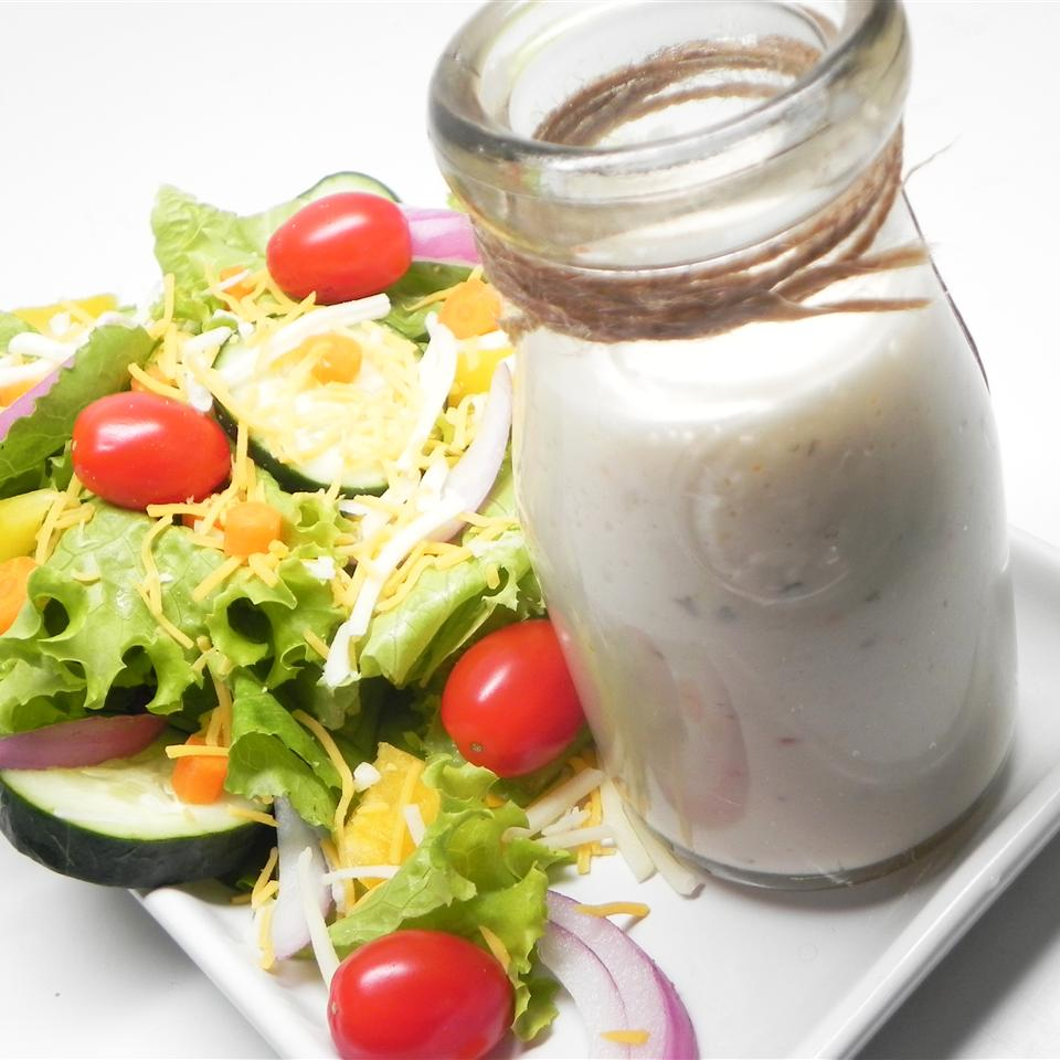 Creamy Garlic Italian Dressing