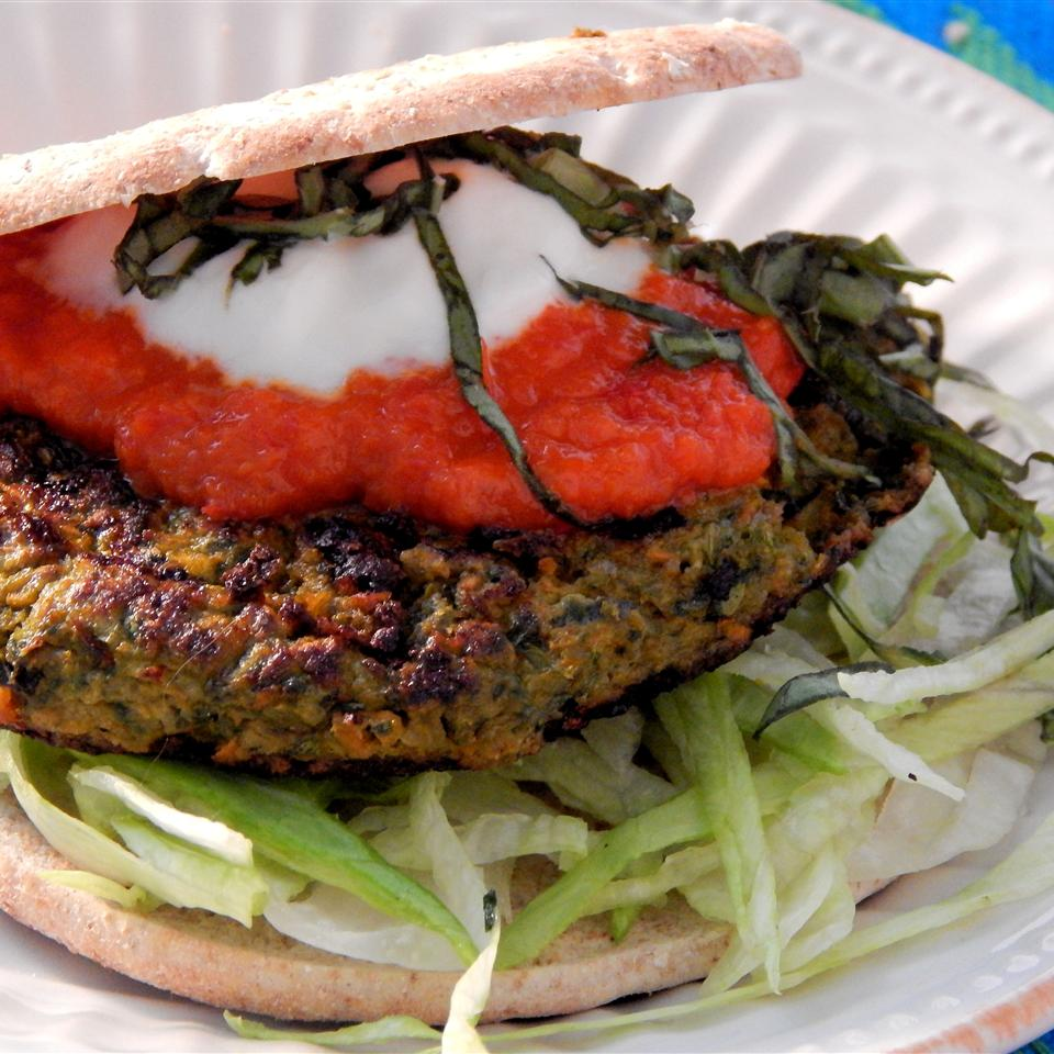 Vegetable and Tofu Burger