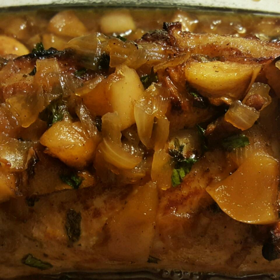 Apple Glazed Pork Tenderloin