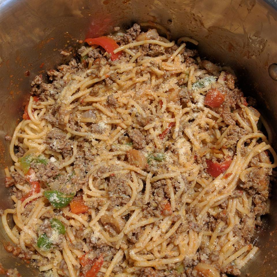 Cajun Spaghetti Daniel Raymond