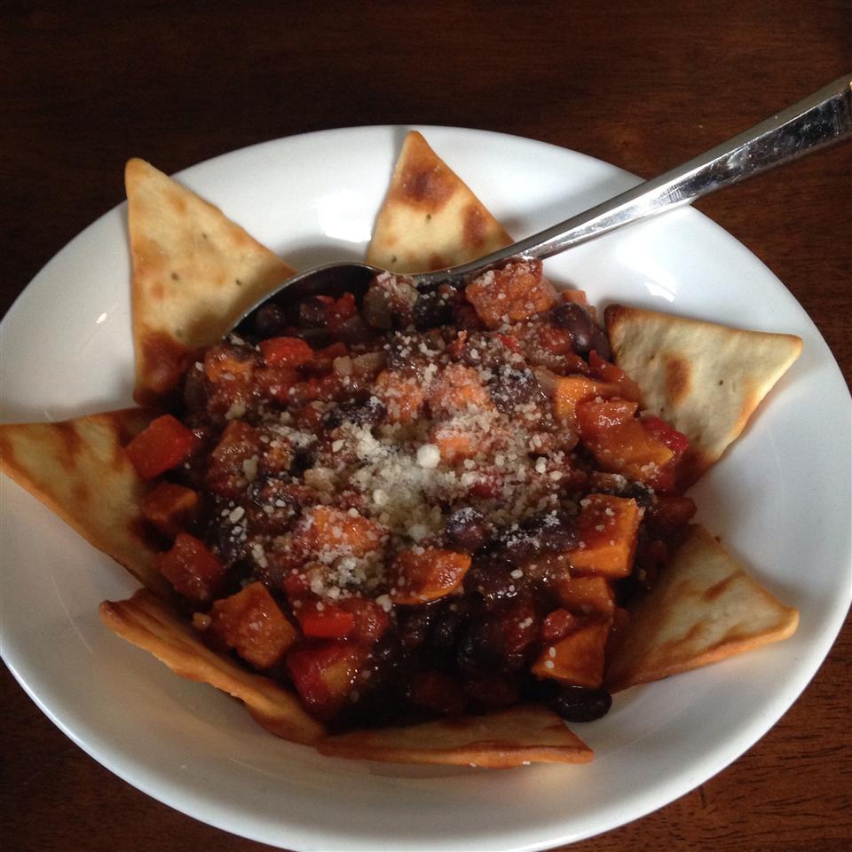 Sweet Potato and Black Bean Chili rupertrules