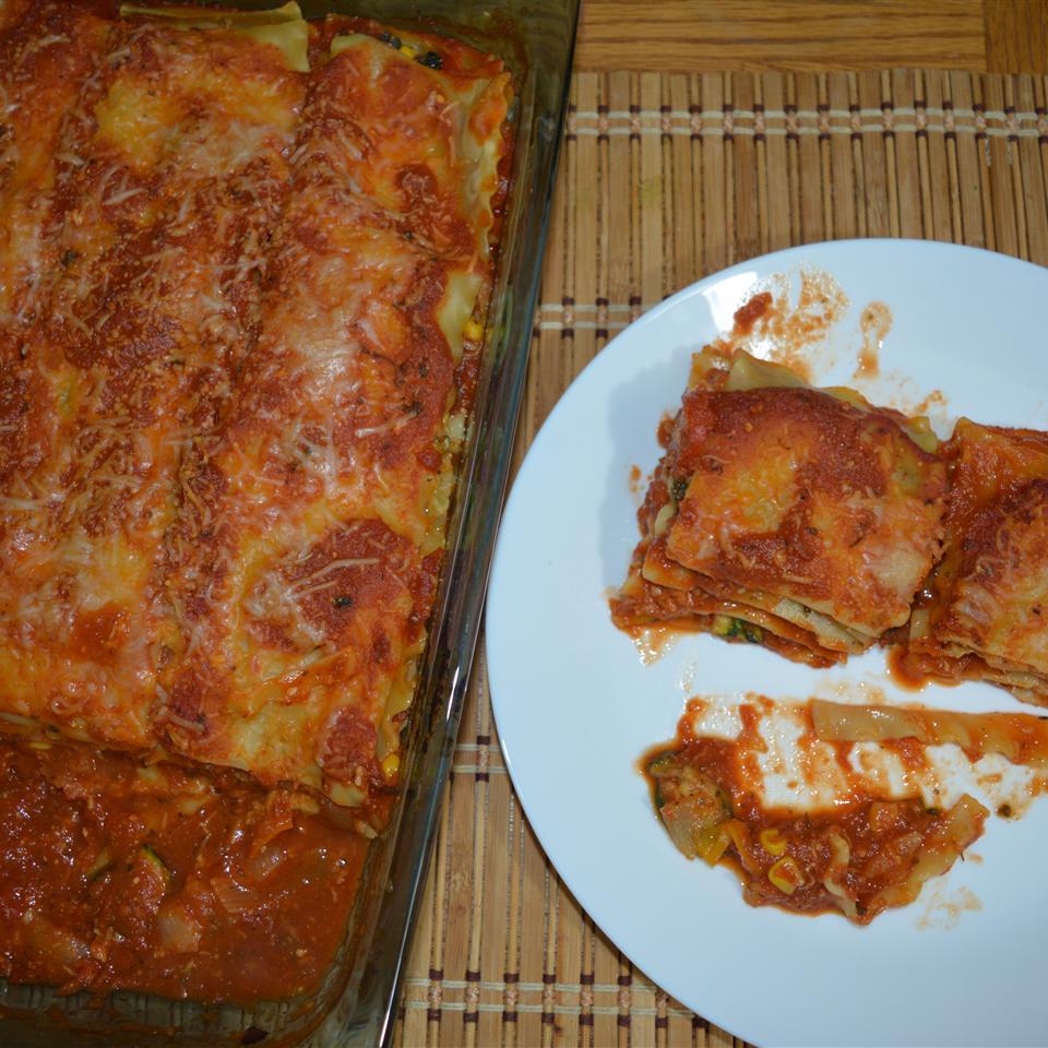 Easy Roasted Vegetable Lasagna Arthi Sriram