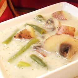 Russian Green Bean and Potato Soup CookinBug