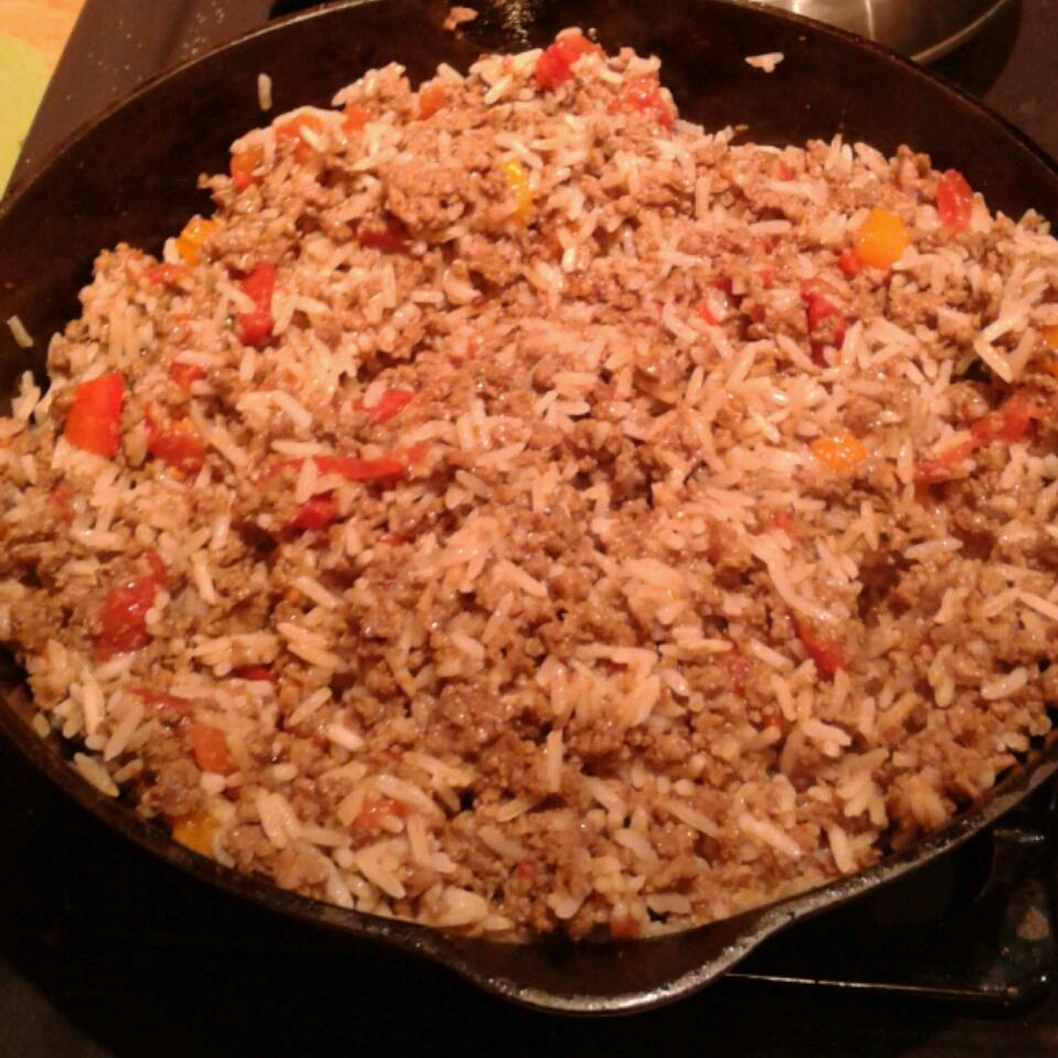 Mark's Quick Beef Spanish Rice Jackie S