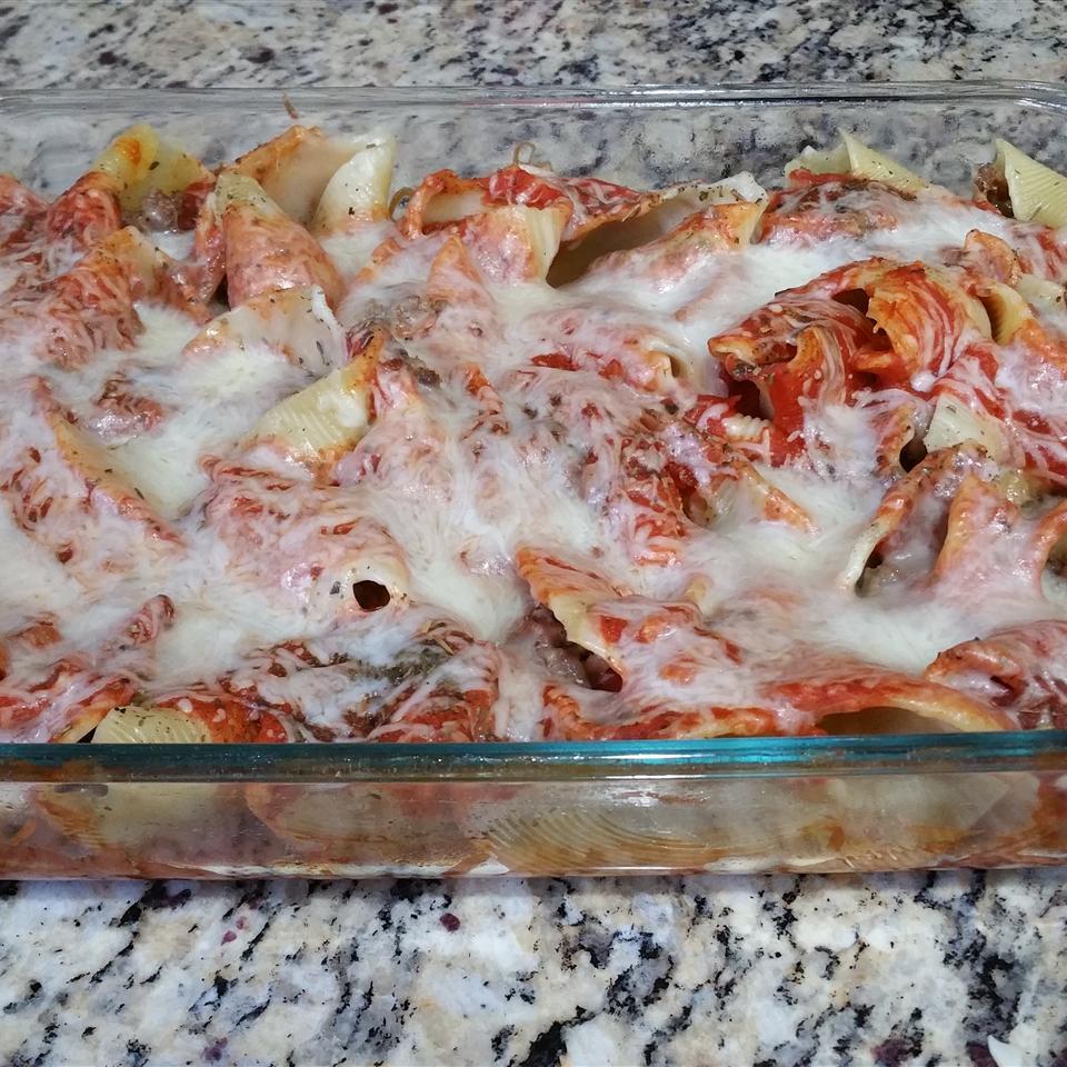 Italian Sausage Stuffed Shells