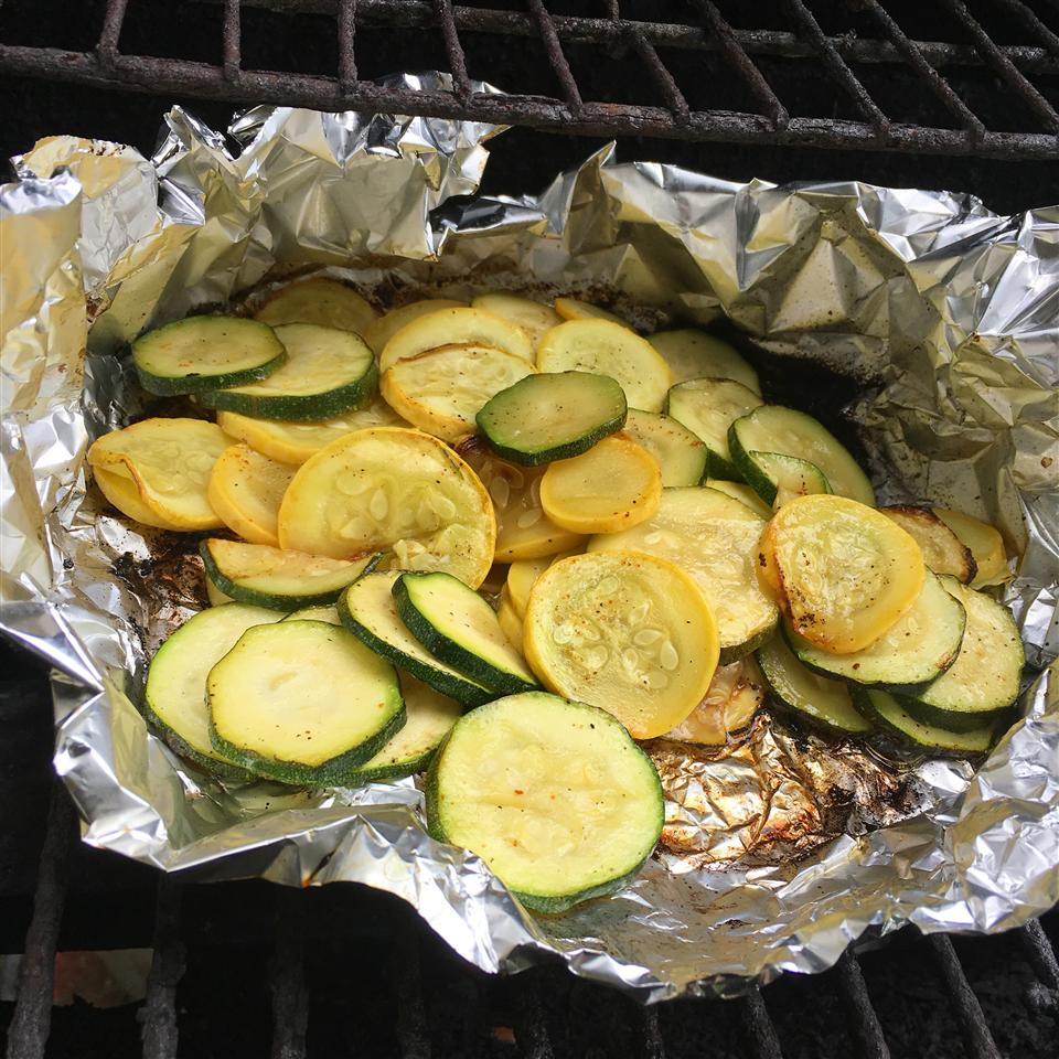 Grilled Squash and Zucchini