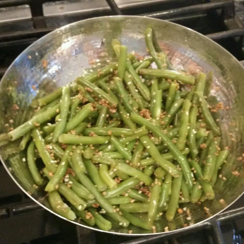 Quick Sesame Green Beans Louis Nemec