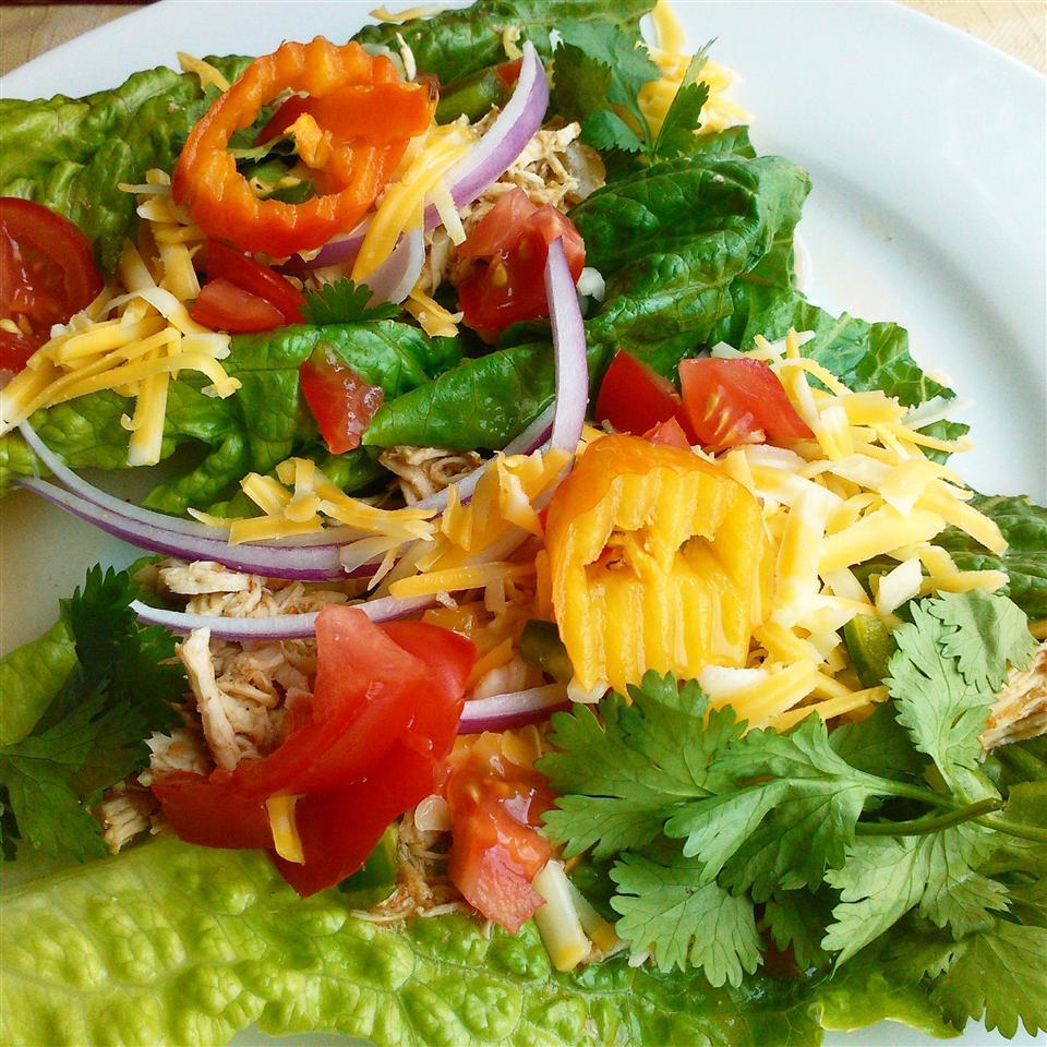 Fiesta Slow Cooker Shredded Chicken Tacos Chef V