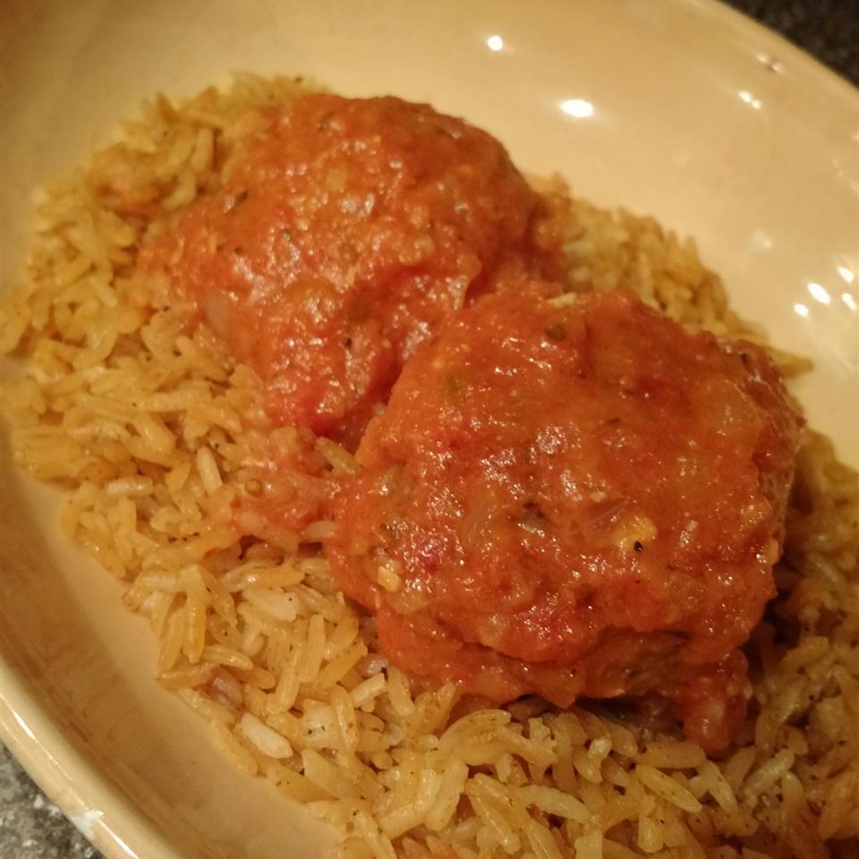 Turkey and Rice Meatballs (Albondigas)