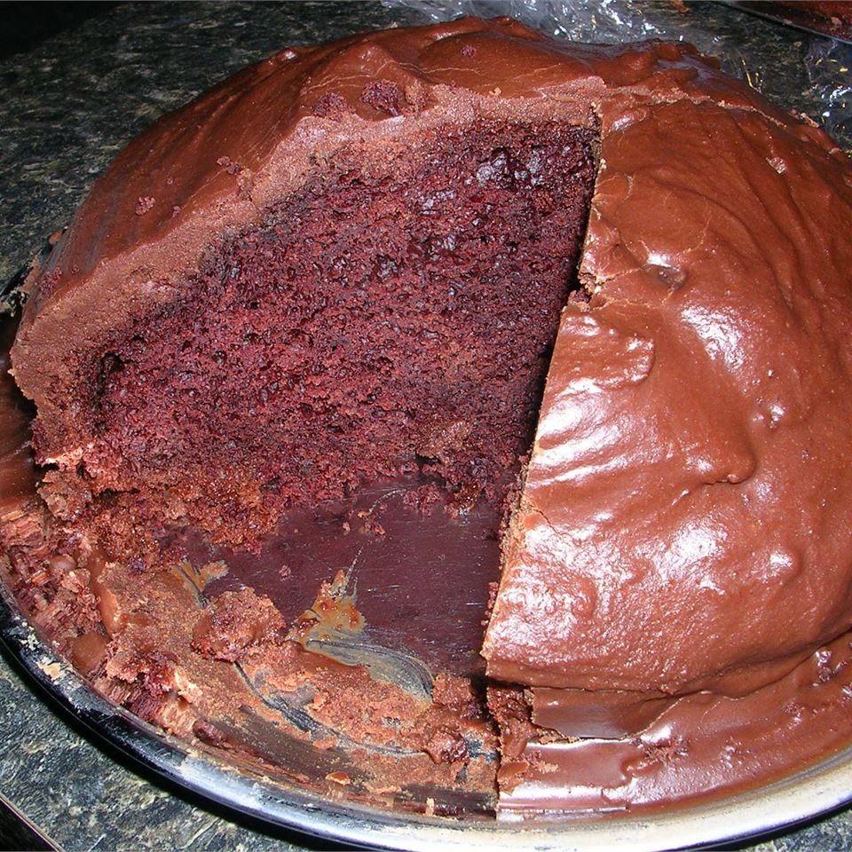 Sour Cream Chocolate Cake Rebecca Sangster-Kelly