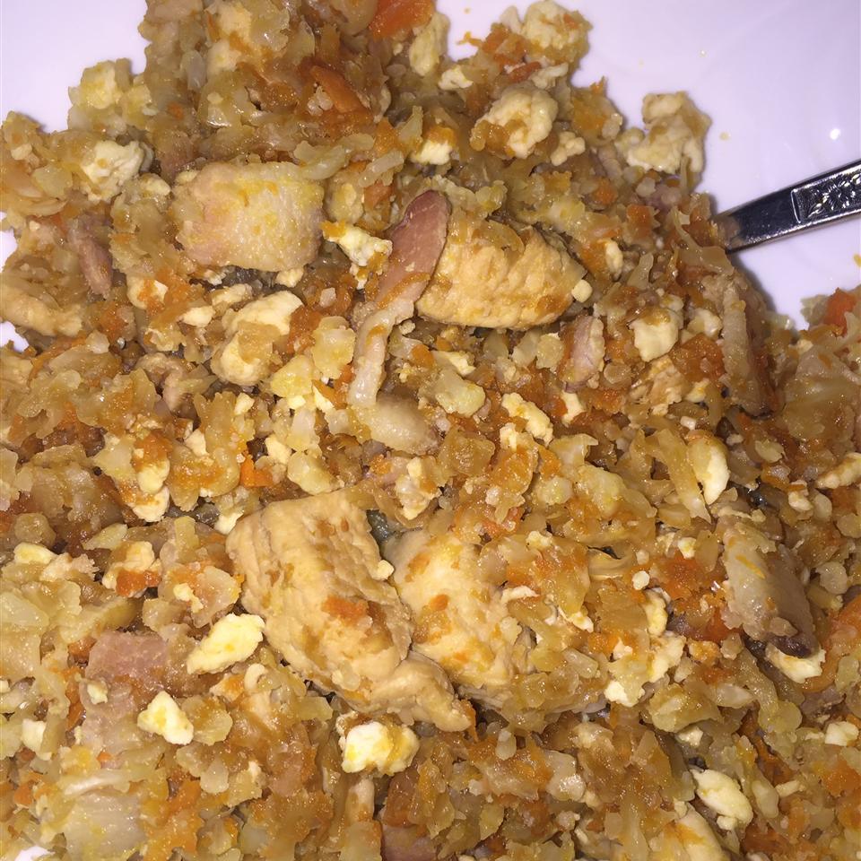 No Rice, Chicken Fried Rice Nycci Horrick