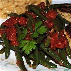 green beans in tomato sauce recipe