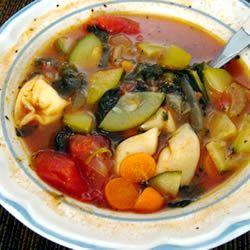 Tortellini Soup I feminiSh