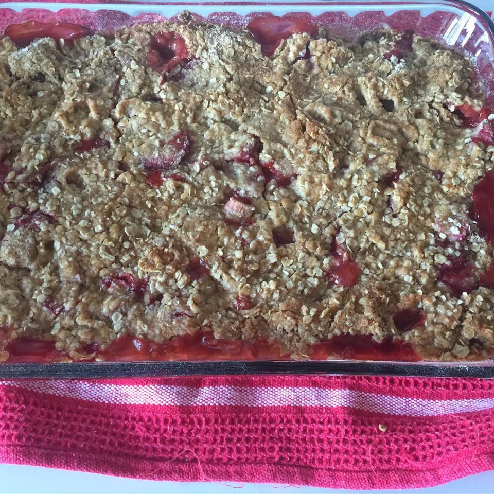 Rhubarb Strawberry Crunch kimber
