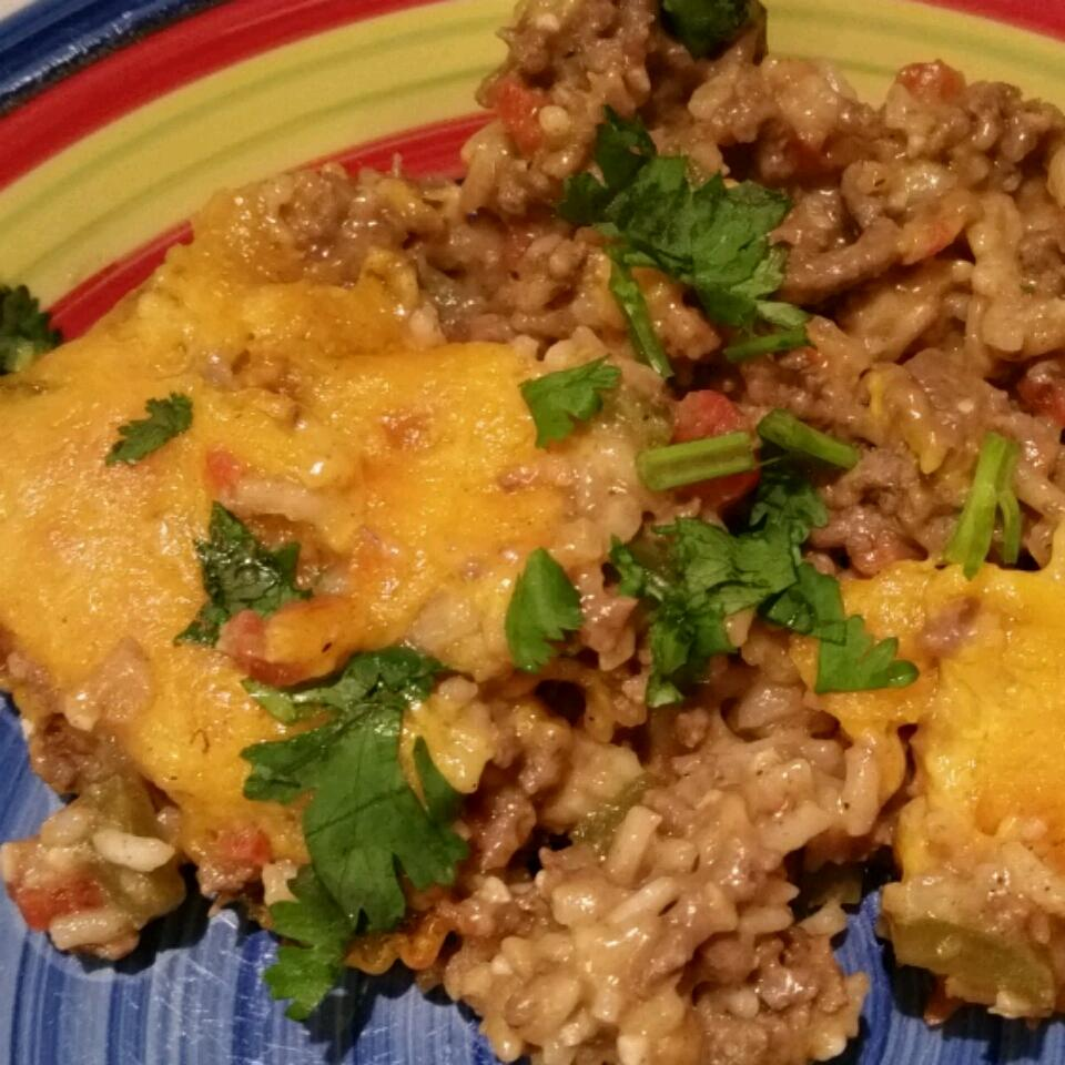 Hearty Spanish Rice Bake
