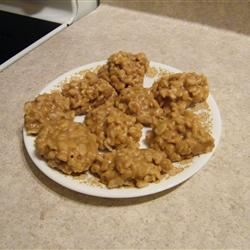 No Bake Peanut Butter Cookies II