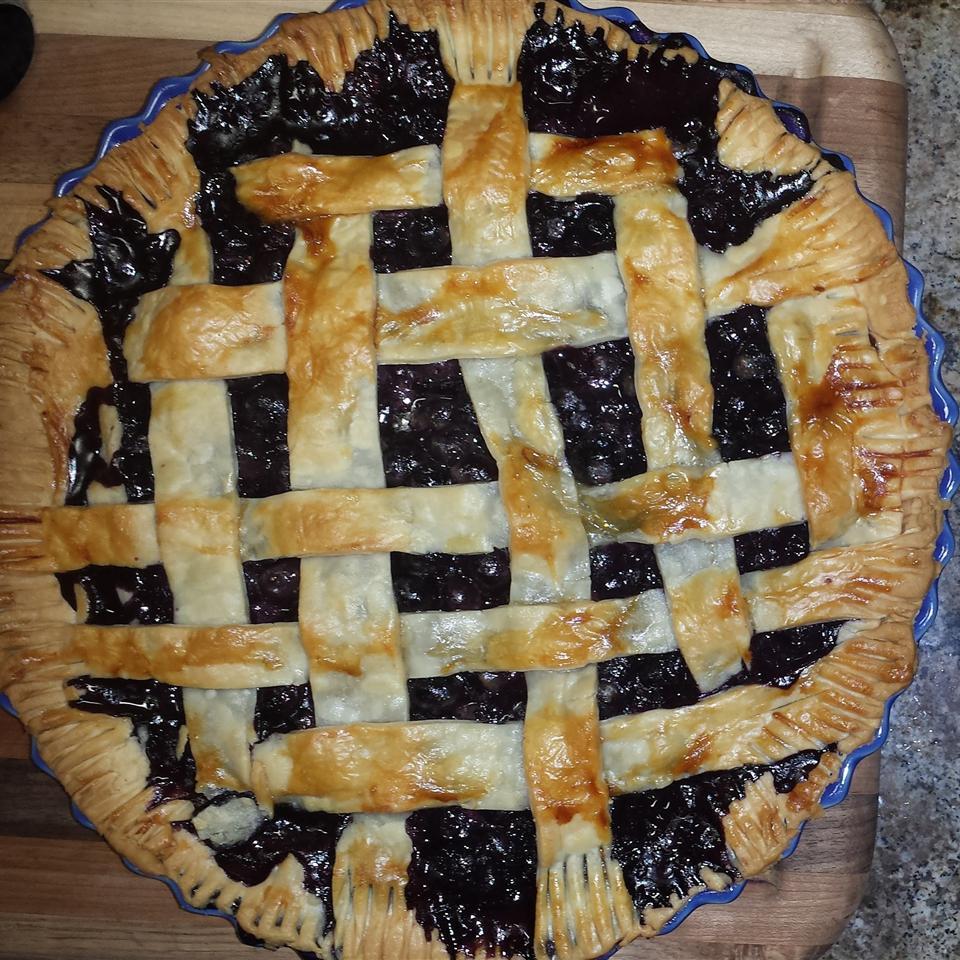 Grandma's Blueberry Pie