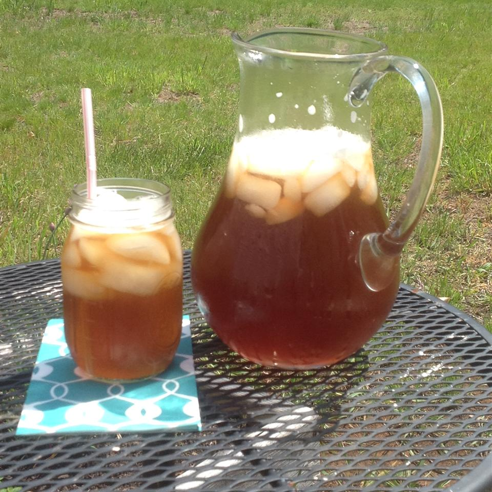 Cool Rhubarb Iced Tea Stephanie Hock