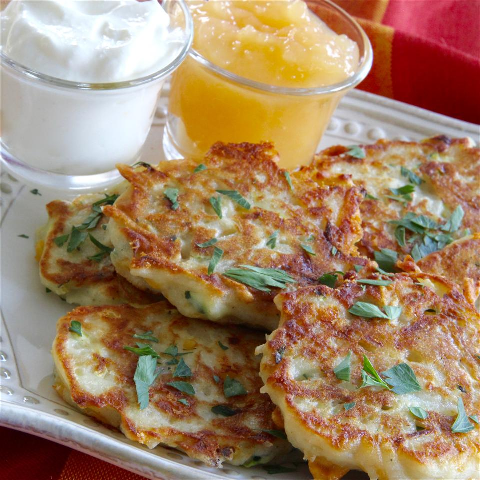 Irish Zucchini and Potato Pancakes