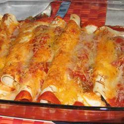 Chicken and Red Bean Enchiladas whatismommamakintonight