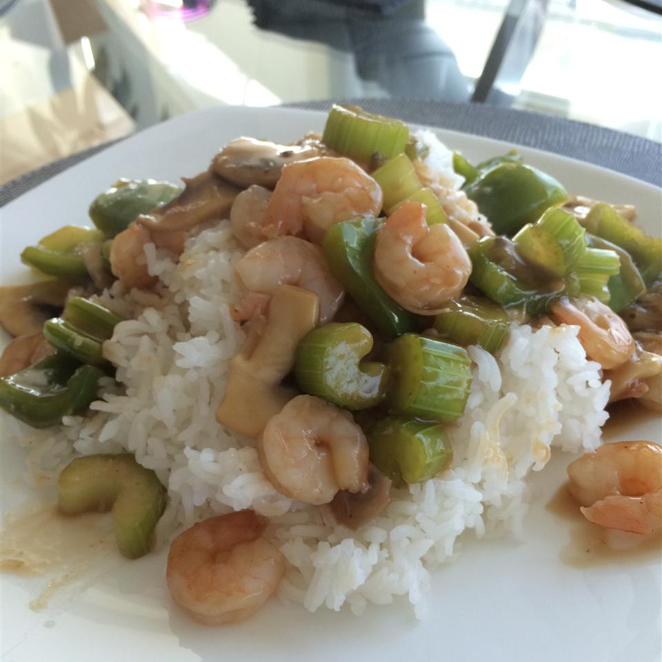 Sesame Shrimp Stir-Fry BakerChick01