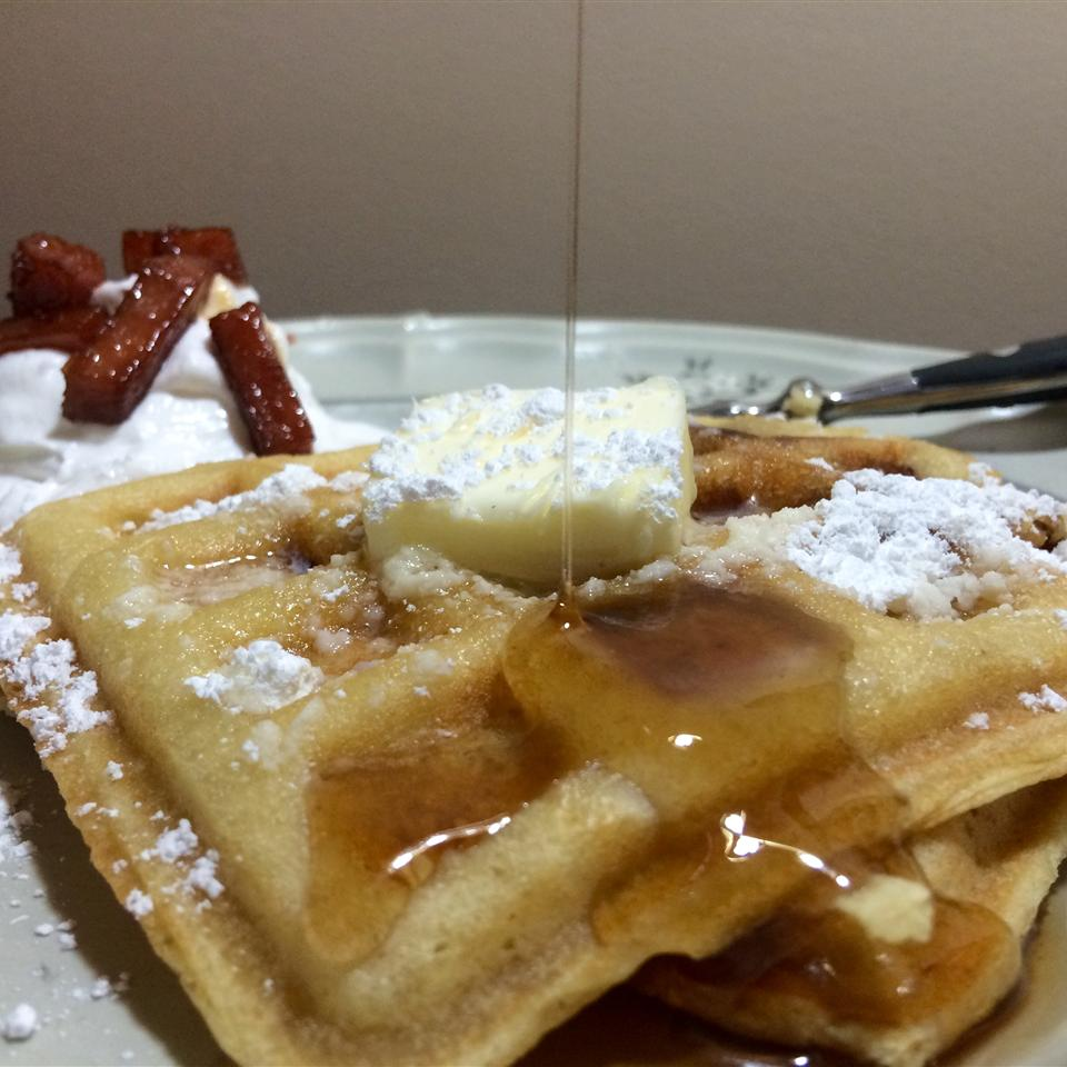 Candied SPAM® Waffles Love2CookMommy