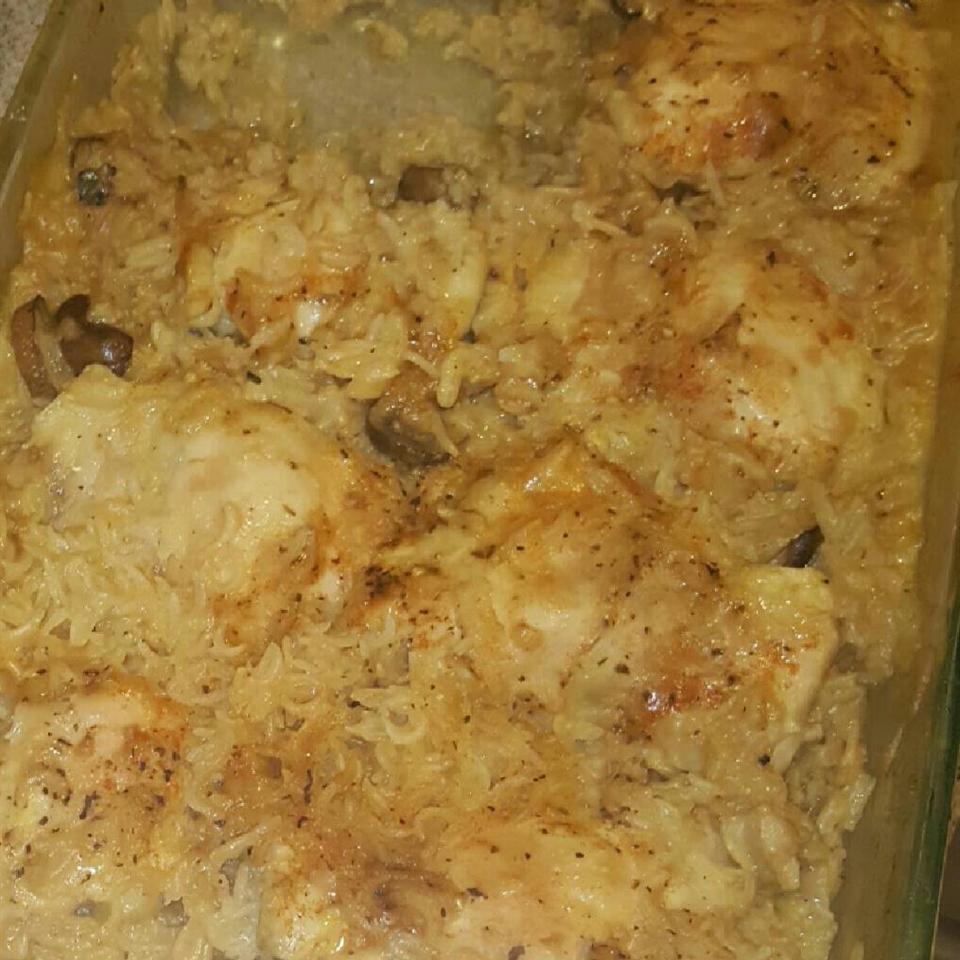 Busy Day Chicken Rice Casserole Sharanjeet Paul