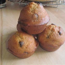 Pumpkin Chocolate Chip Muffins SudburyBaller